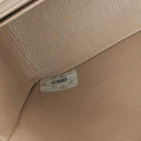 Serial sticker on the interior flap should match the authentication card