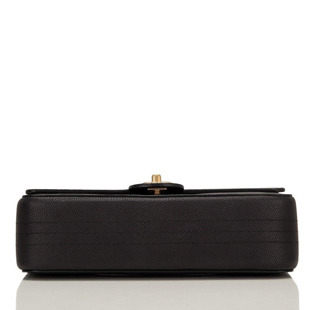 785960a7d66aed Chanel Black Caviar Medium Classic Double Flap Bag — The Posh Net
