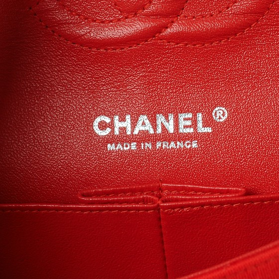 2fd4542e4265 Chanel Jersey Quilted Medium Double Flap Red — The Posh Net