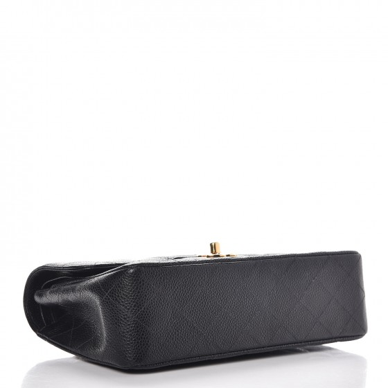 e17189bbb3db Chanel Caviar Quilted Small Double Flap Black — The Posh Net
