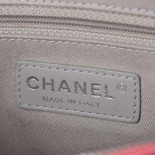 6c6d2476f1af Chanel Caviar Medium Easy Flap Coral — The Posh Net