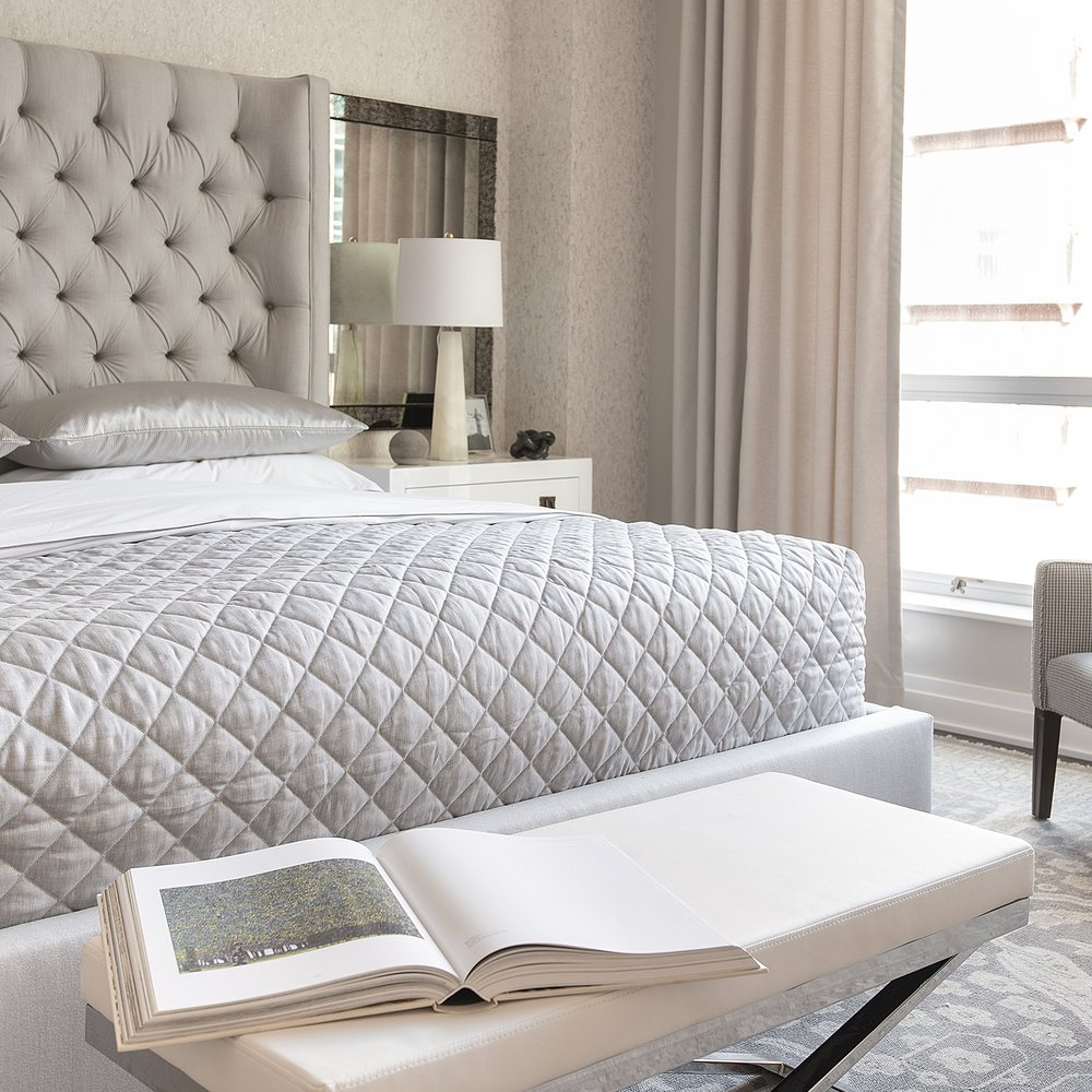 New Maryland Condo bedroom