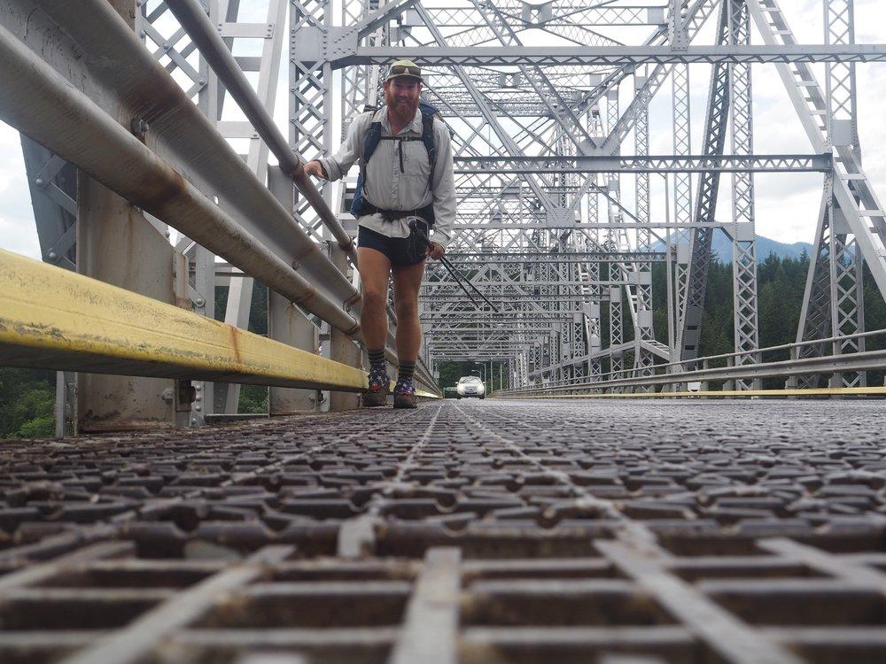 Bridge of the Gods, Oregon into Washington