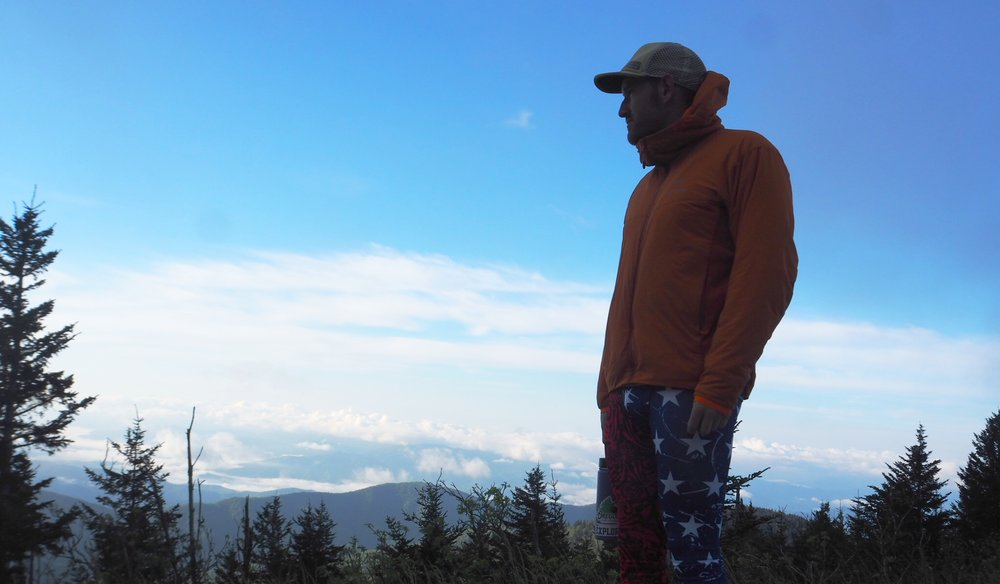 Author at Clingman's Dome Parking Lot 5/2017