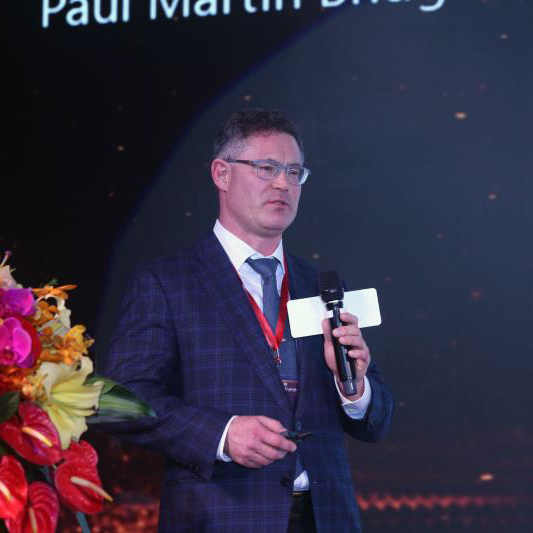 Paul Bridger, CEO