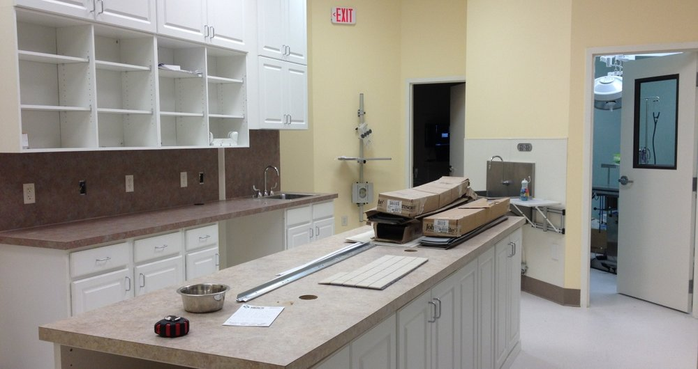 New Cabinets and Countertops in Pharmacy