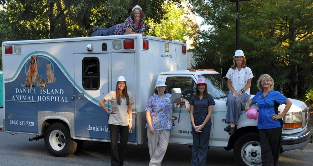DIAH on Wheels Pet Ambulance