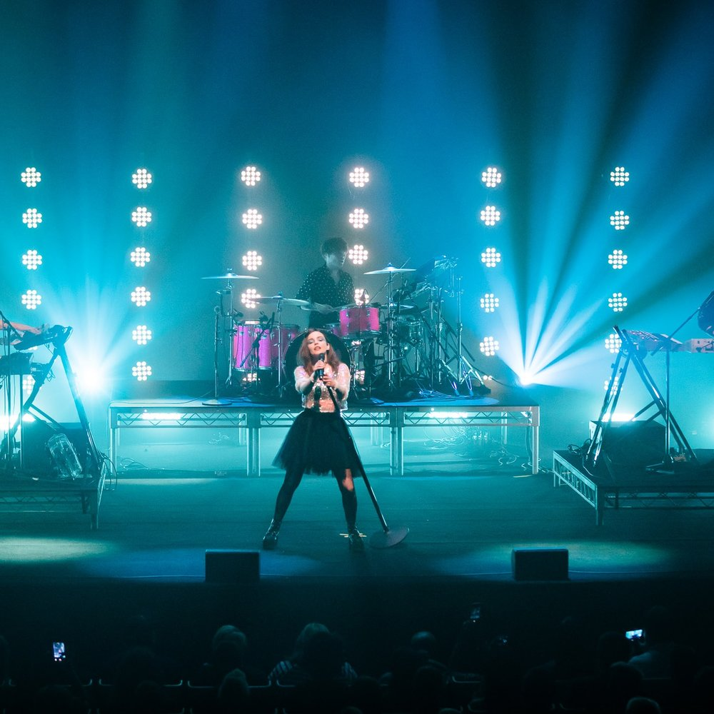 CHVRCHES, SYDNEY 07/01/2019 -  EVER WONDERED WHAT IT'S LIKE?