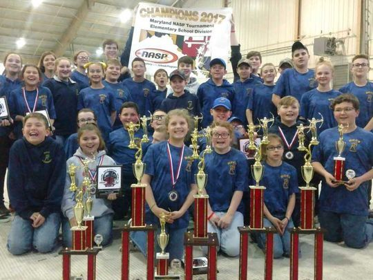 The Holly Grove Archery team won four of the six team championships at the state level.