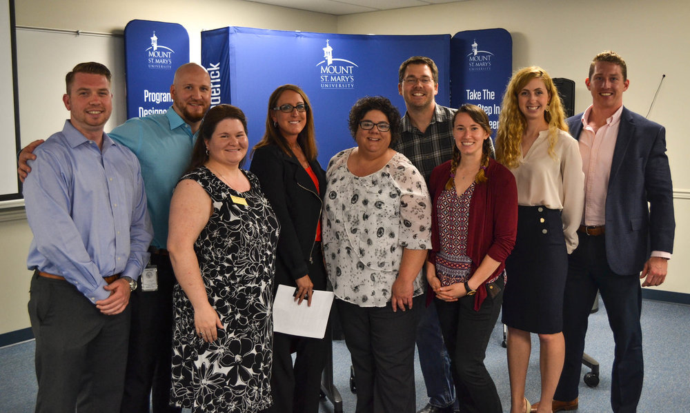 Panelists and some of the members of Generation Connect Steering Committee (from left to right): Brandon Cannon, Wes Leatherman, Jenn Runkles, Tammy Feaster, Betsy Day, Austin Meyermann, Bailey Rankin, Ana Filipovic Windsor, Kris Miner.