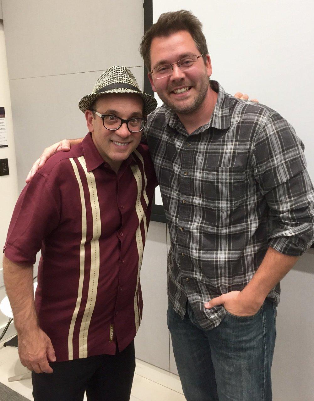 Cal Fussman (left) and Austin Meyermann (right)