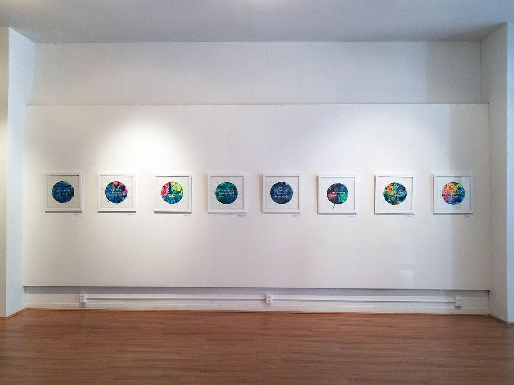 Things I Should've Said  on display at Main St Gallery, Buffalo, NY.