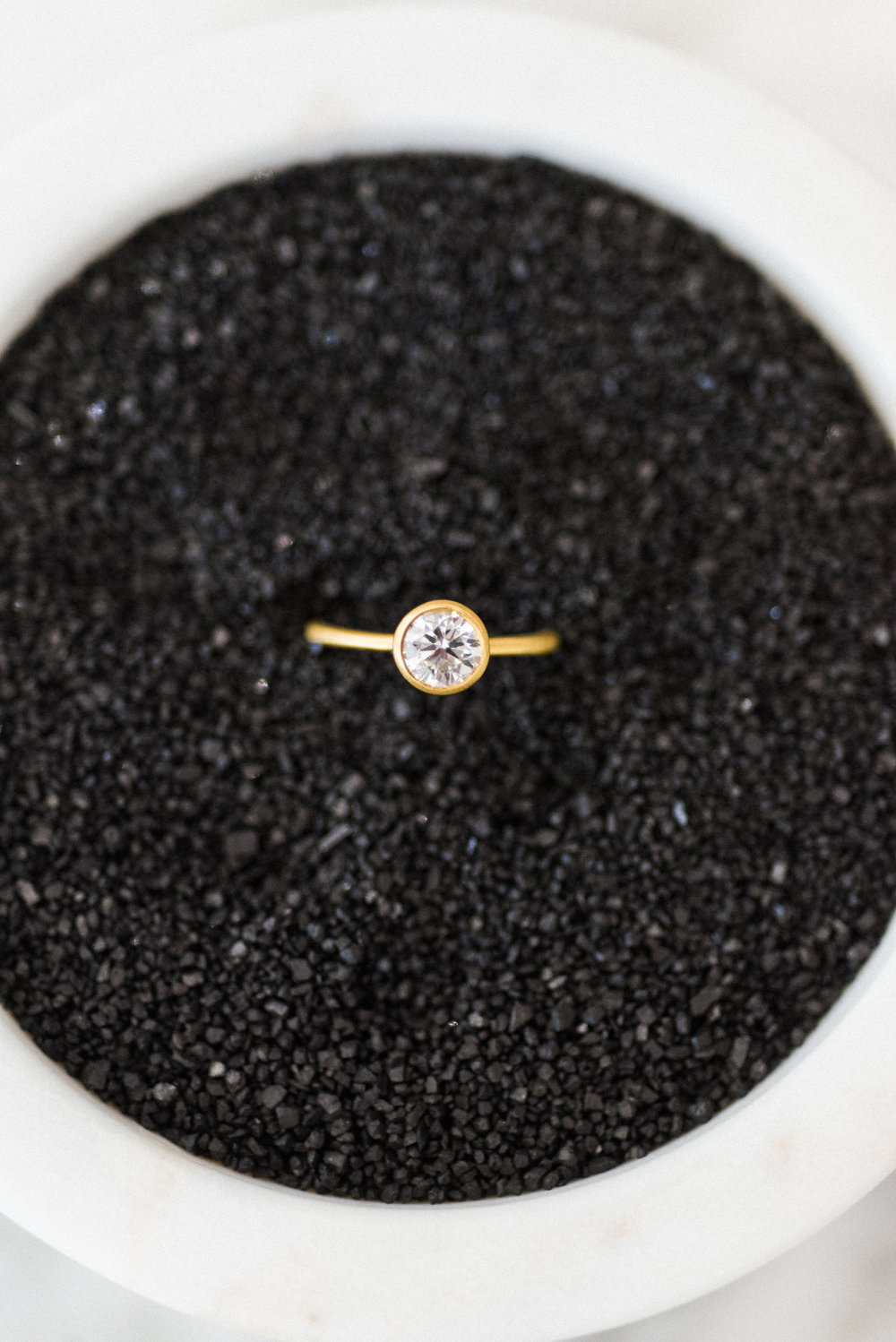 The Solitaire -   Classic beauty, lets center stone sing.