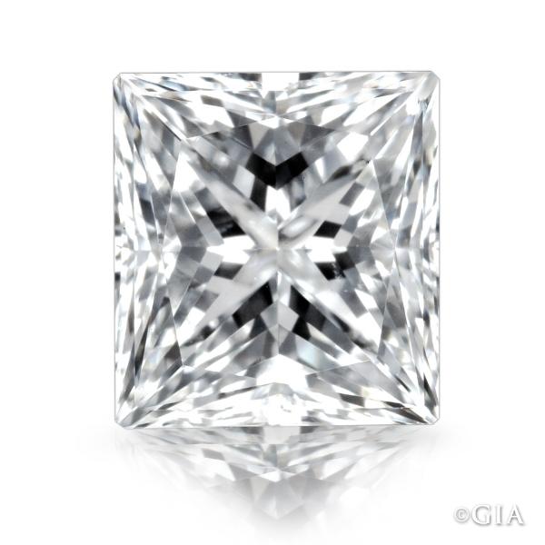 Princess cut diamond.