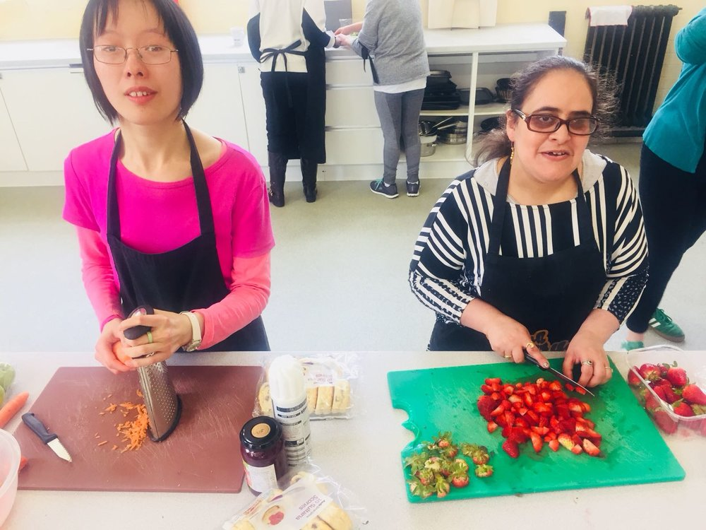 Cooking and Catering sessions at John Archer Hall