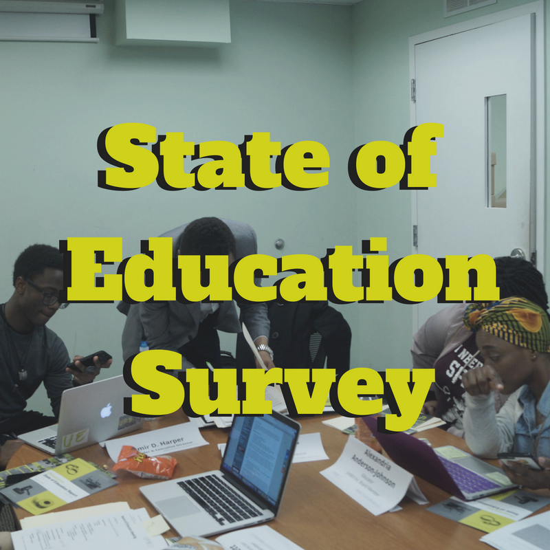 State of Education - The State of Education report combines School District of Philadelphia (SDP) statistics with an UrbEd created student survey. This culminates into a professional report including statistics and testimonies from students and experts in education. The State of Education report gives UrbEd (along with the general community) the necessary information to advocate in effective ways. UrbEd has and will use this report to advocate for change in our community. Share and take the survey below!