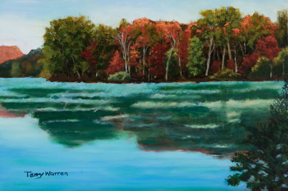 Fall at Radnor Lake, SOLD