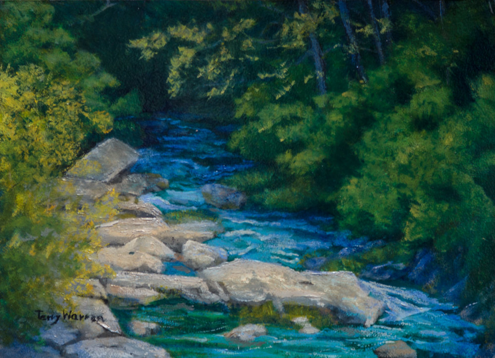 Mountain Stream, Sold