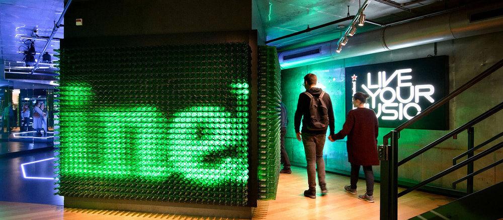 Heineken Experience banner