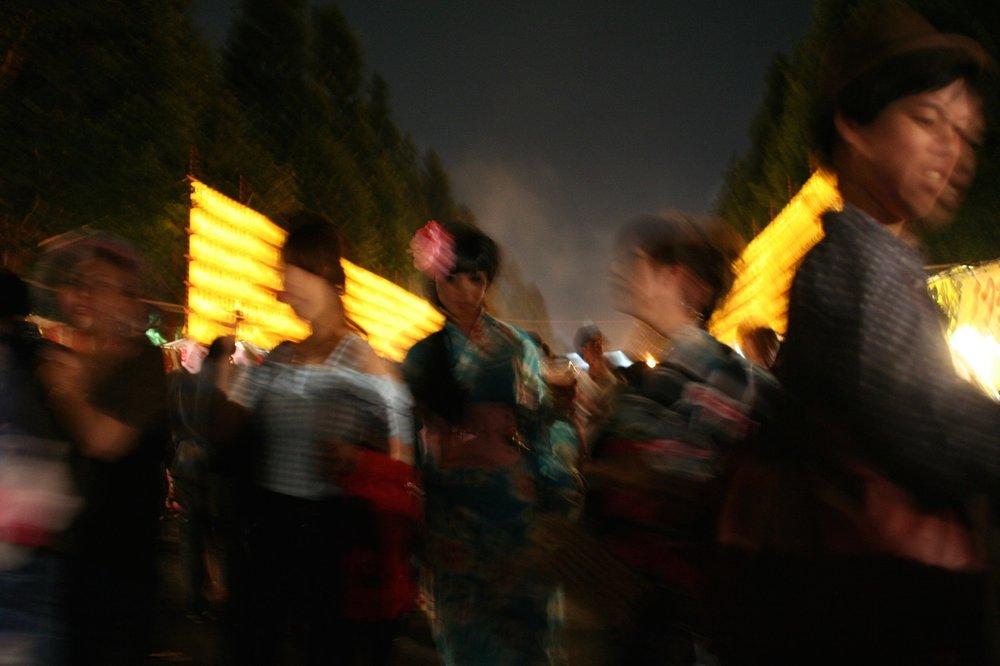Revelers, Yasukuni Shrine, Tokyo