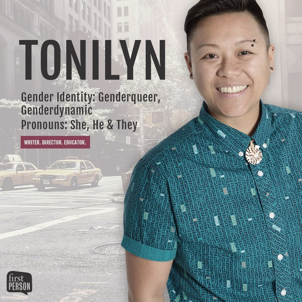 10 QUESTIONS WITH GENDERQUEER LOVE WARRIOR TONILYN A. SIDECO -