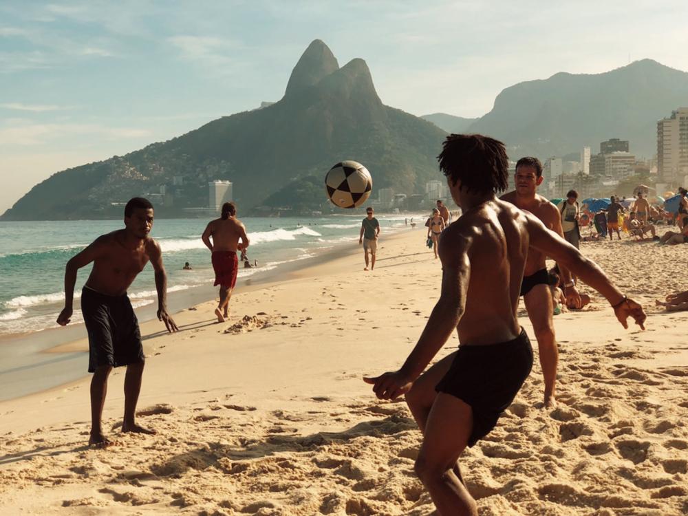 Image of the destination - Ipanema Beach in Rio de Janeiro