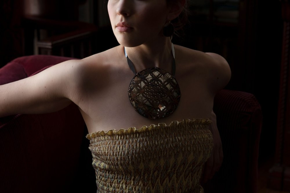 Raissa Bump Image on Model