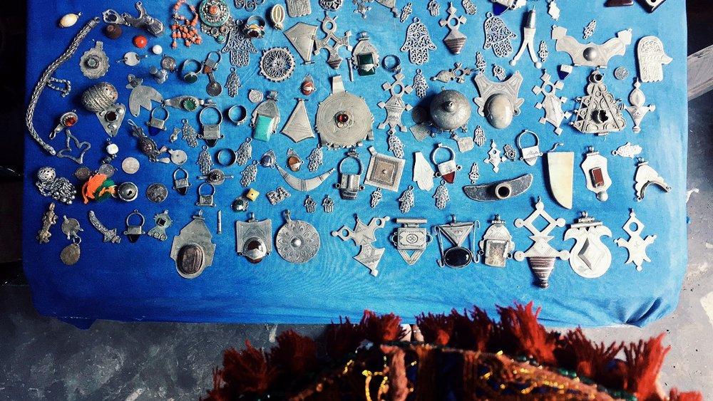 Berber Talismans.
