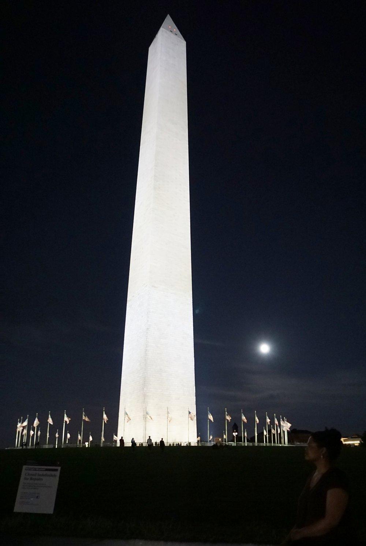 National Monument at night, Washington DC