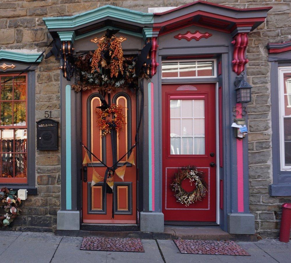 Historic Stone Row homes