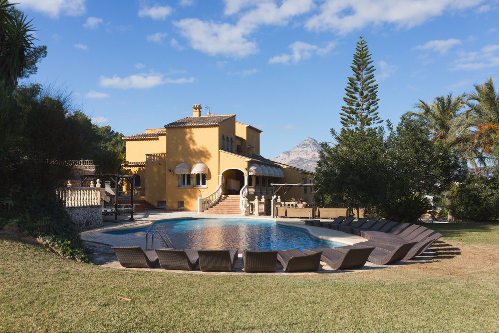 The villa where the LMDES Getaway group stayed in Jávea. (Photo: Tanya Weekes)
