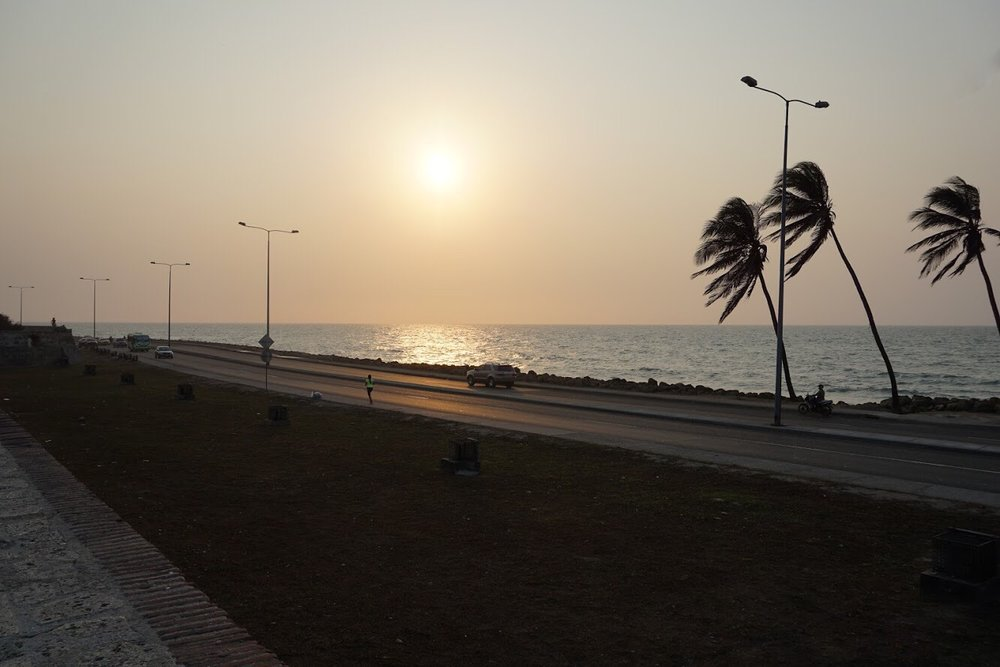 Cartagena Colombia sunset.JPG