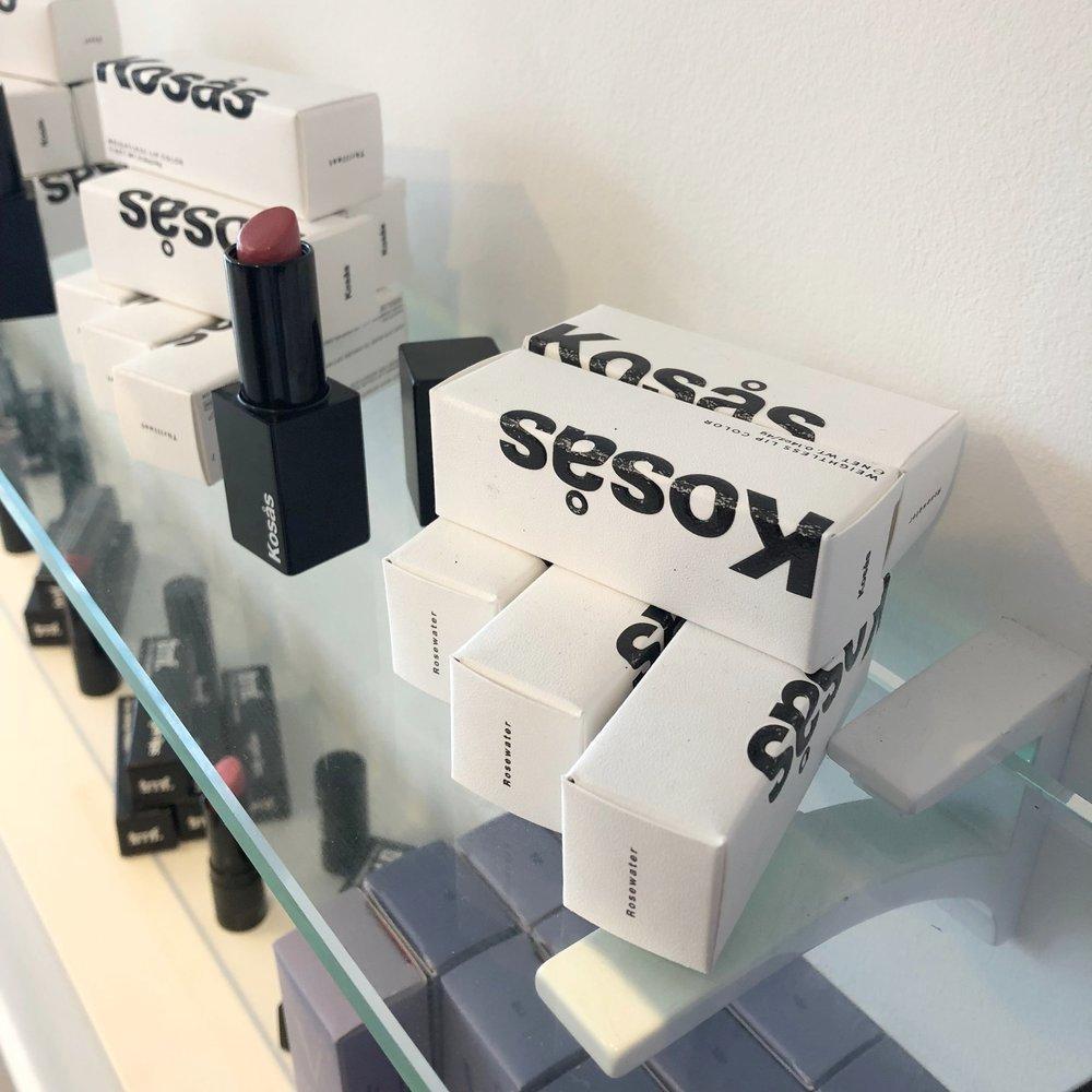 Kosas lipstick clean nontoxic makeup brand