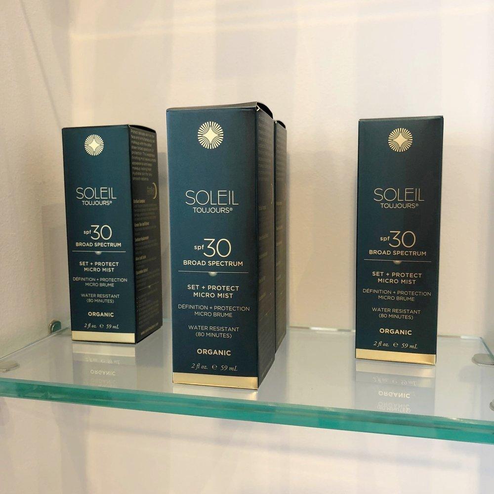 Soleil clean nontoxic makeup sunscreen brand