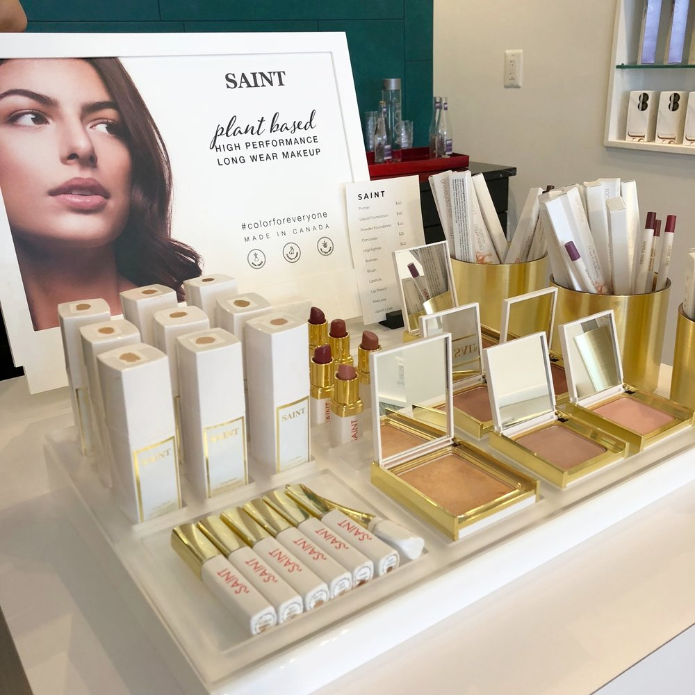 Saint clean beauty makeup brand