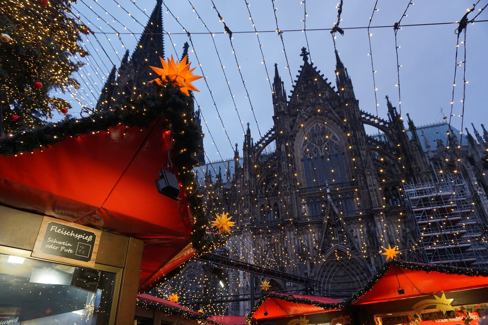 Cologne Cathedral and Christmas Market, Germany, Kölner Dom