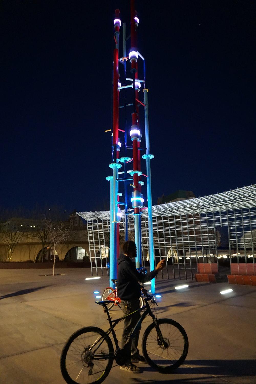 El Paso, Texas night bike tour