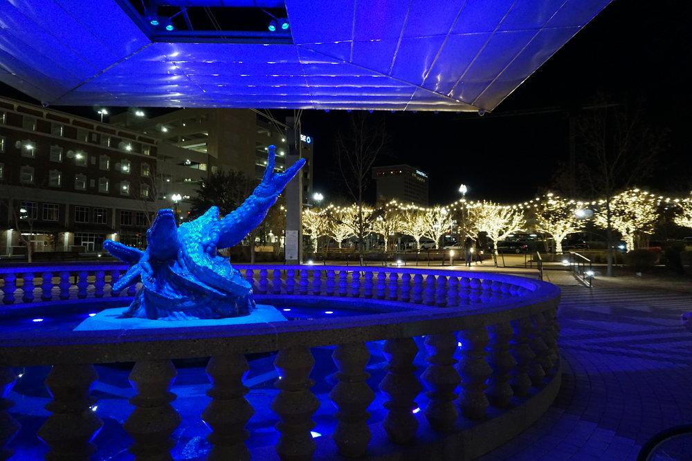 El Paso Texas Alligator Statue