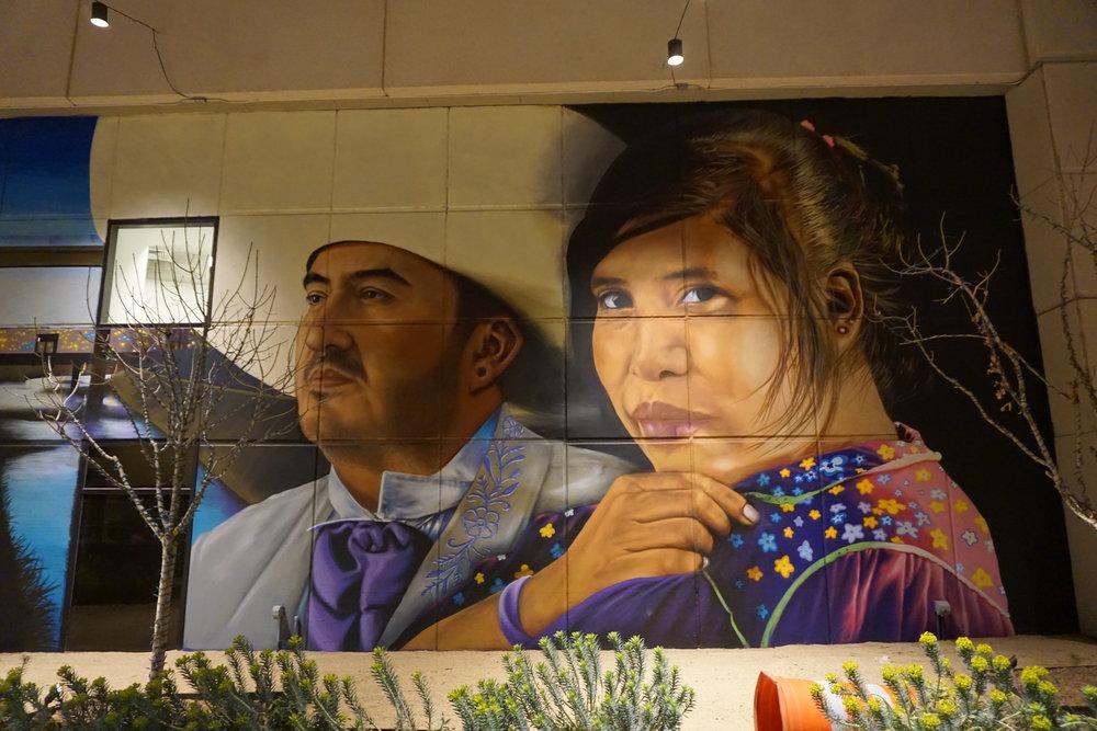 Juan Gabriel art mural, El Paso Texas