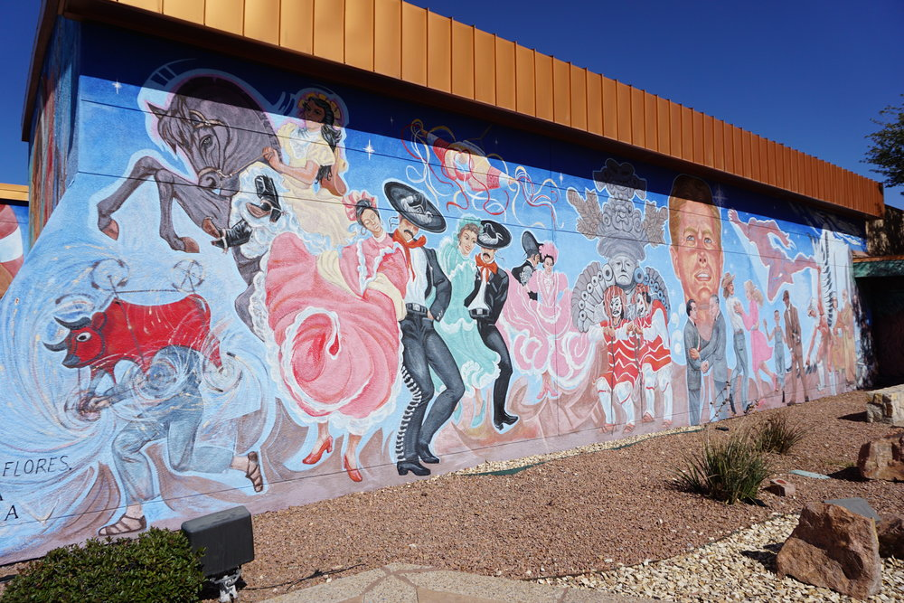 """""""Nuestra Herencia/Our Heritage"""" mural"""
