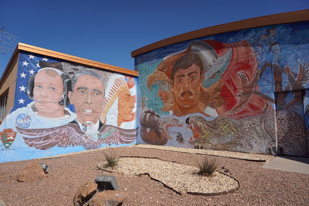 Chamizal Memorial art mural El Paso Texas.JPG