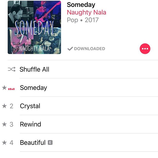 Have you heard Someday yet?⠀ ⠀ Available Now everywhere! ⠀ ⠀ #rock #music #newmusic @SoundStudio412 @naughtynalaband