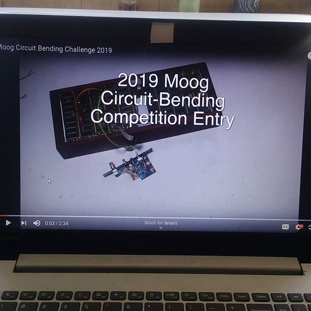I entered my first competition since the science fair... check out my entry on YouTube if you get a chance.