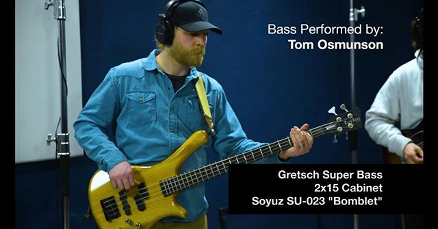 Check out our own @tbonesteeke making his first @creative_sound_lab video appearance w @thebrothersgillespie and @soundstudio412 ! Check out the @creative_sound_lab YouTube channel to watch the new video! Nice work guys!! #bass #shootout #SoyuzMicrophones @soyuzmicrophones @allinthetrunk #amps #tube #studioporn #music #newalbum #youtube