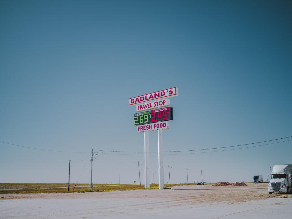Badlands Travel Stop.
