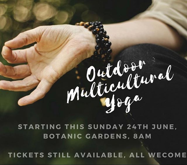 Picture yourself at the Mackay Botanic Gardens  for the next 4 weeks with the inspiring @neighbourhoodyoga learning and growing in your beginner yoga practice. Bliss!  Head to our Facebook page for tickets. #yoga #mackay #mackaypride #mackay #meetmackayregion #yogaeveryday #yogaeverywhere