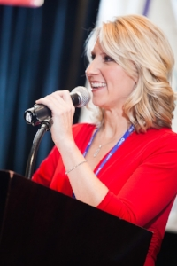 KVUE anchor Terri Gruca has moderated our conference for many years!