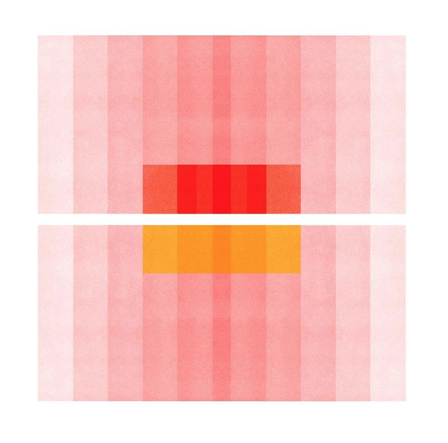 Color Space 27 . I literally had a vision of this image that came to me right before going to sleep one night. Had to get up and make a sketch of it so I could make it later. After working for good long while to make the image match the vision, I got there. Earlier this year, this image was featured on the SFMOMA Tumblr & Instagram page. A strange and wonderful experience all around with this image, for sure!