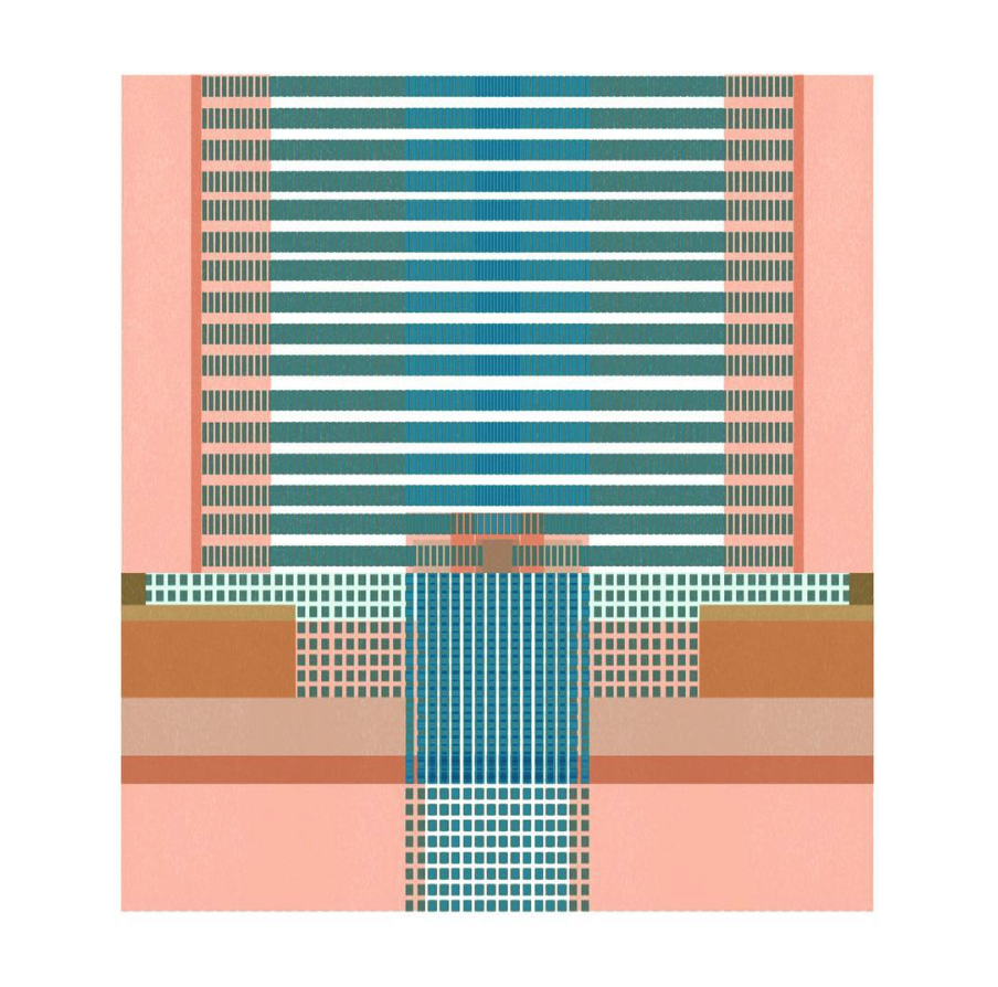 City Space 10 . The images in this series are more figurative than usual for me, but I liked the new pathways my brain had to take to make them work.