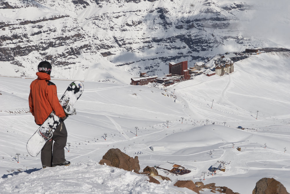 Valle Nevado, Chile, South America, Rider: David Owen CHASEWINTER/SPENCER FRANCEY